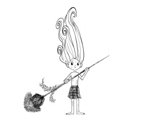 Kyle the thistle pixie 1 character