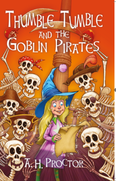 Goblin pirates front cover and text book